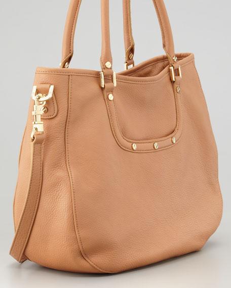 Amanda Classic Hobo Bag, Aged Vachetta