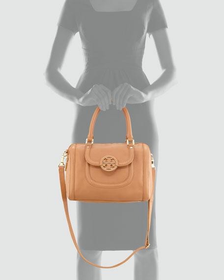 Amanda Middy Satchel Bag, Aged Vachetta