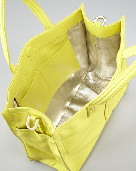 Violet Small Tote Bag, Citrus