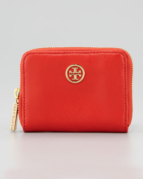 Robinson Zip Coin Case, Hot Red