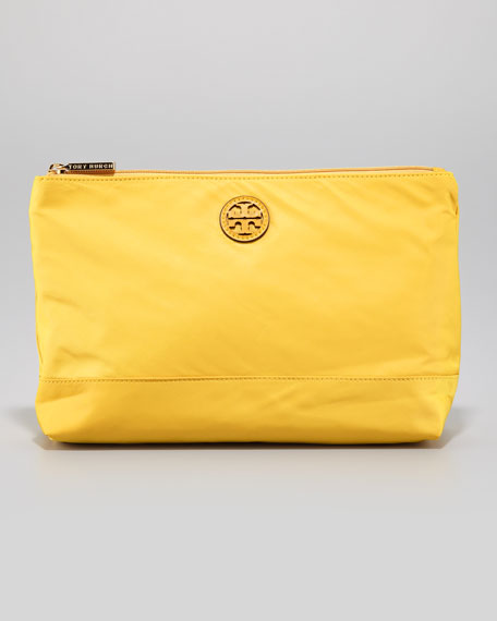 Large Nylon Cosmetic Case, Golden Sun