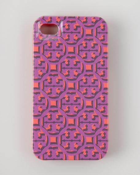 Logo Lattice Hard Shell iPhone 4 Case, Pink