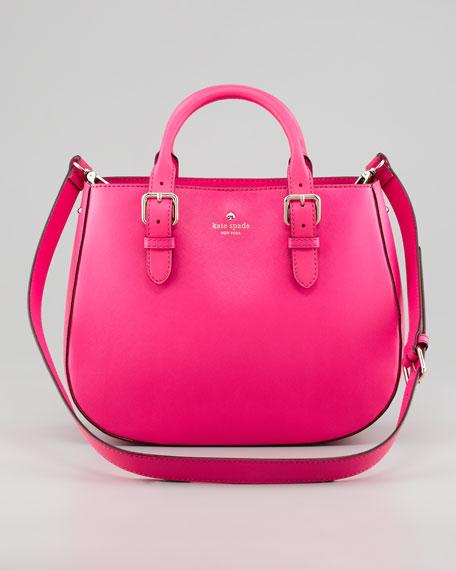 charlotte street sylvie satchel bag, snapdragon