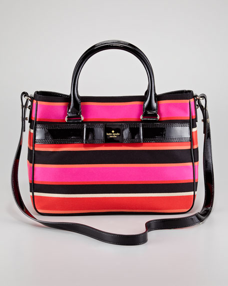 primrose hill striped goldie bag