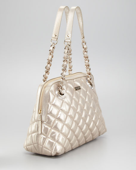 gold coast georgina shoulder bag, gold