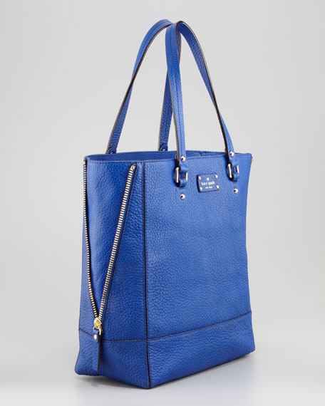 grove court thea tote bag, yves blue
