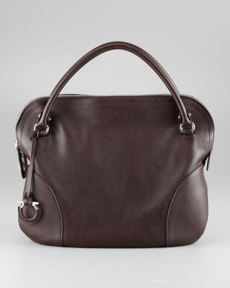 Bonaria Zip-Top Satchel Bag