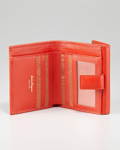 Icona French Wallet, Dark Orange