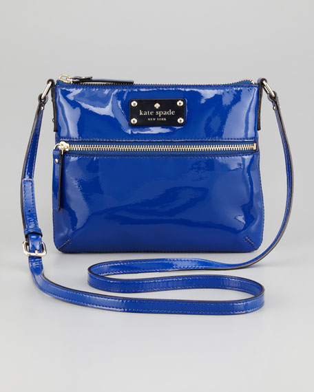 flicker tenley crossbody bag, yves blue