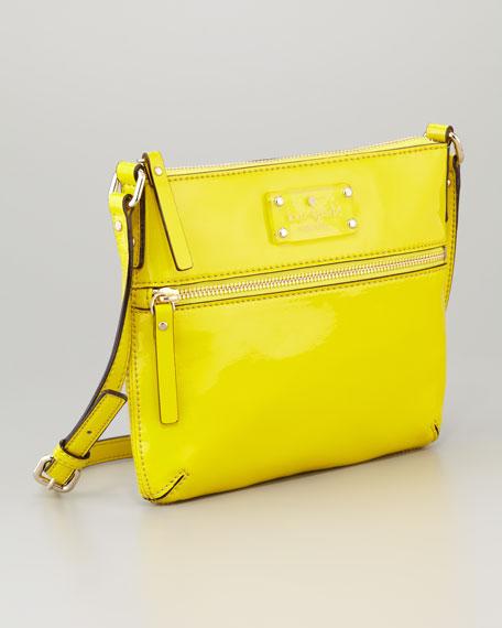 flicker tenley crossbody bag, firefly