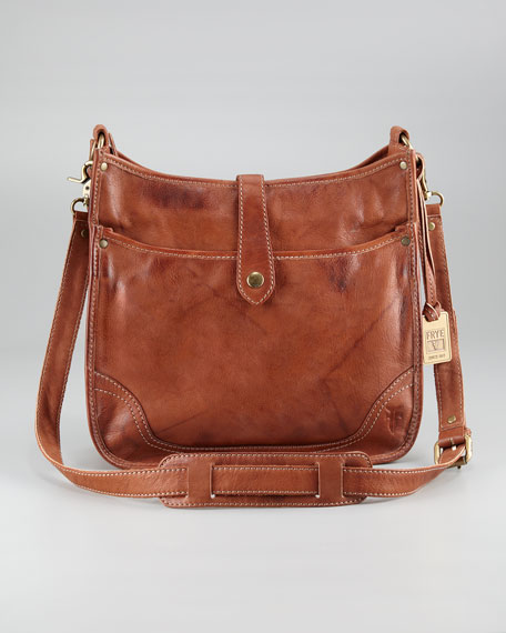 Campus Crossbody Bag, Saddle