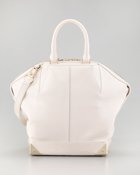 Emile Small Dome Bag, Champagne