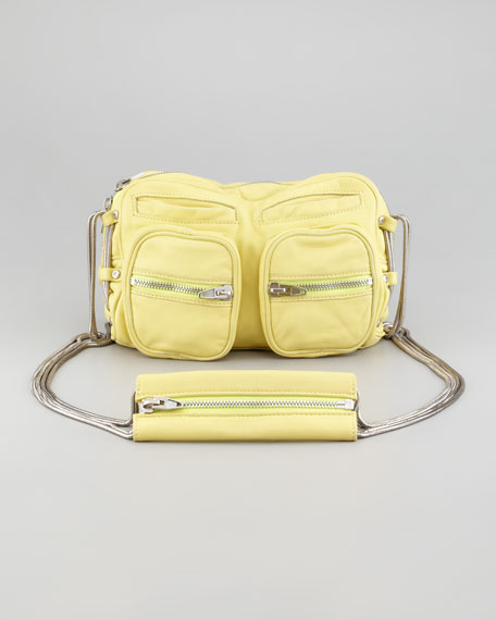 Brenda Chain Shoulder Bag, Citrus
