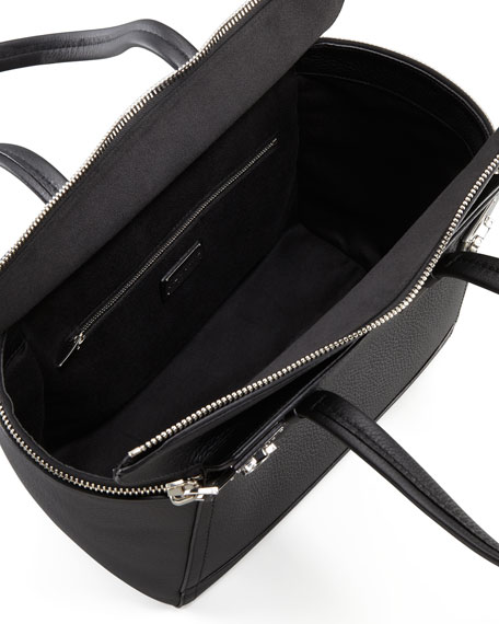 Verve Zip Tote Bag, Black