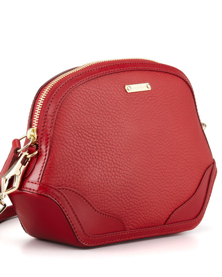 Extra Small Crossbody Bag, Military Red
