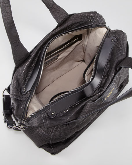 Iggy Textured Satchel Bag
