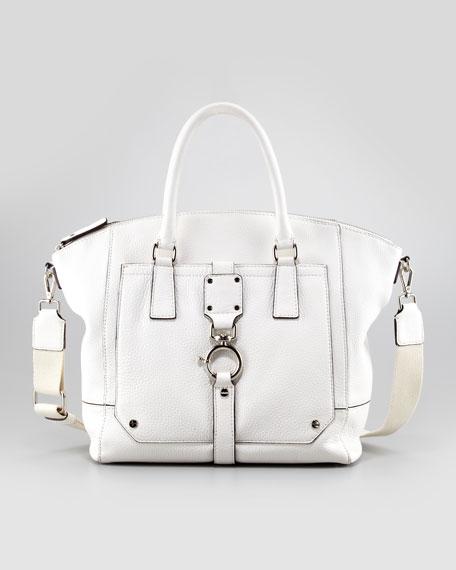 Felicity Tote Bag, White