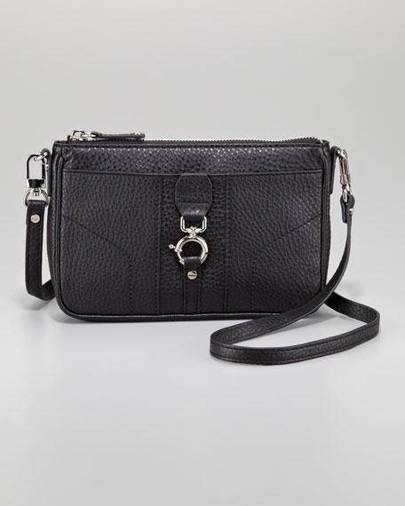 Mini Felicity Crossbody Bag, Black