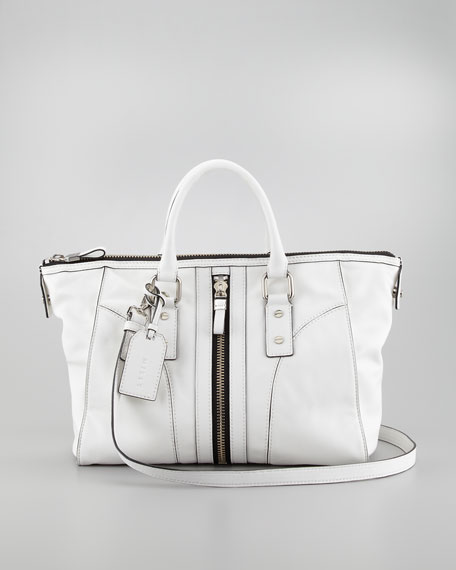 Jayden Leather Satchel Bag