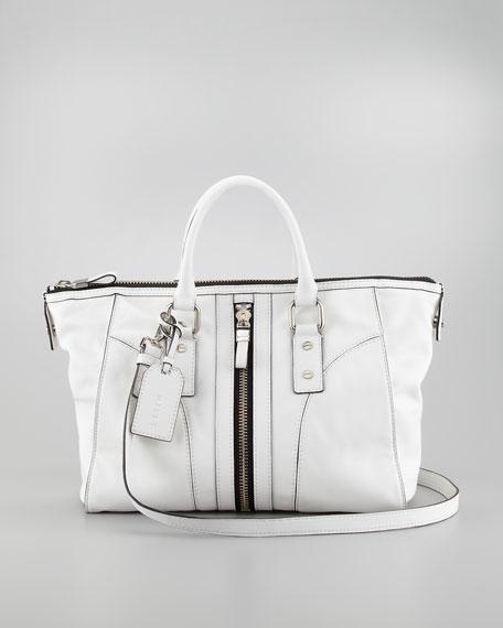 Jayden Leather Satchel Bag