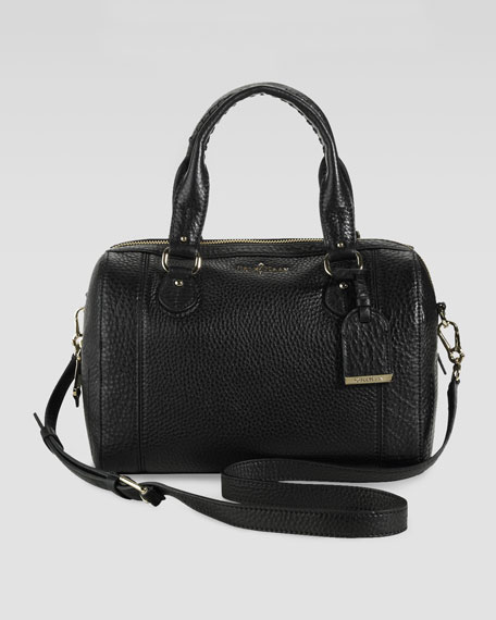 Linley Barrel Bag, Black