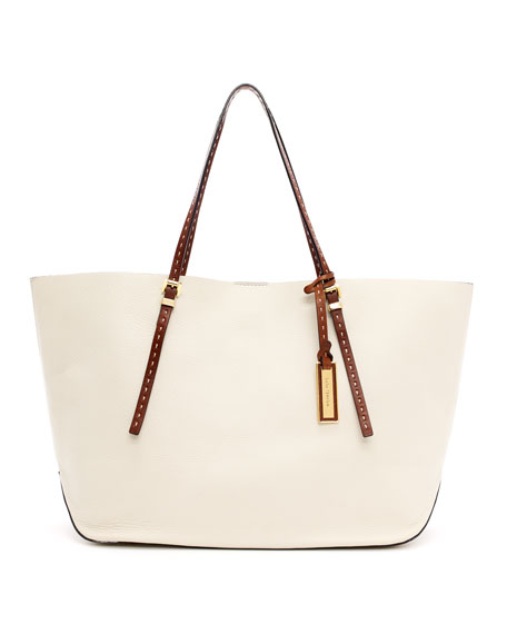Gia Textured Leather Tote Bag