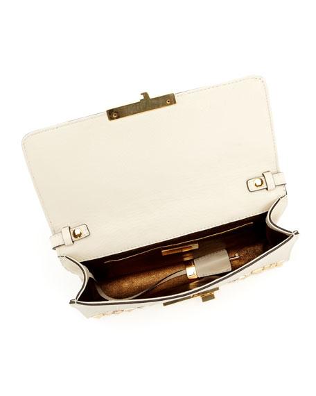 Gia Studded Clutch Bag