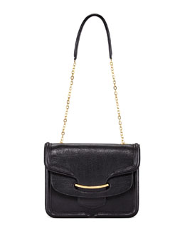 Alexander McQueen Heroine Shoulder Bag, Black