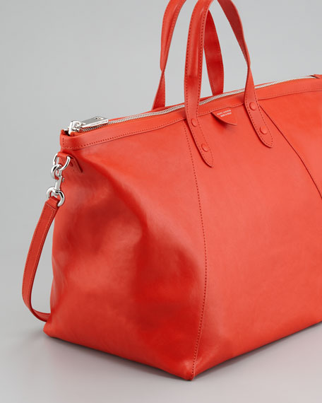The Small Sheila Tote Bag, Coral