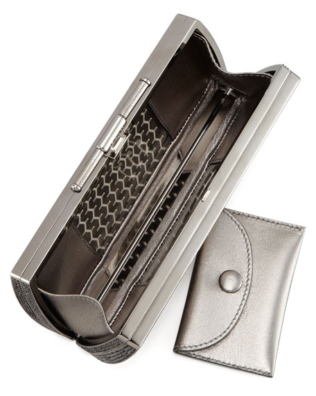 Tredington Metal Clutch Bag