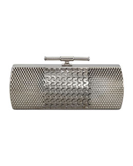 Belstaff Tredington Metal Clutch Bag
