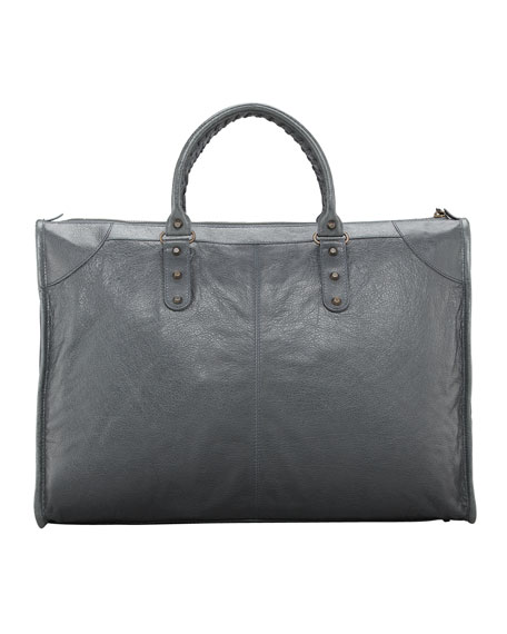 Classic Weekender Bag, Gris Tarmac