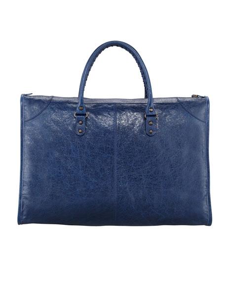 Classic Weekender Bag, Bleu Mineral