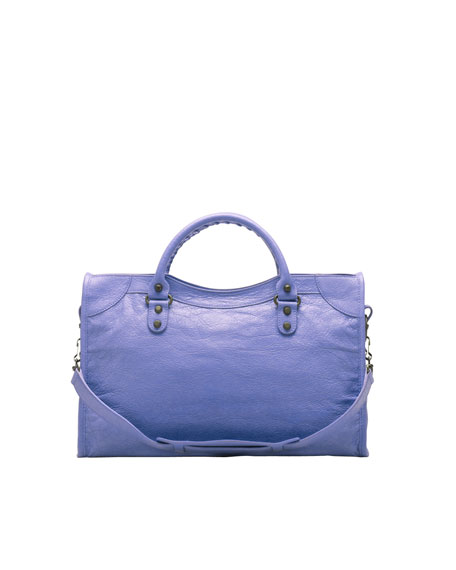 Classic City Bag, Mauve