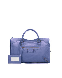 Balenciaga Classic City Bag, Mauve