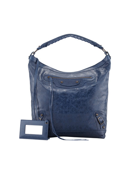 Classic Day Bag, Bleu Mineral