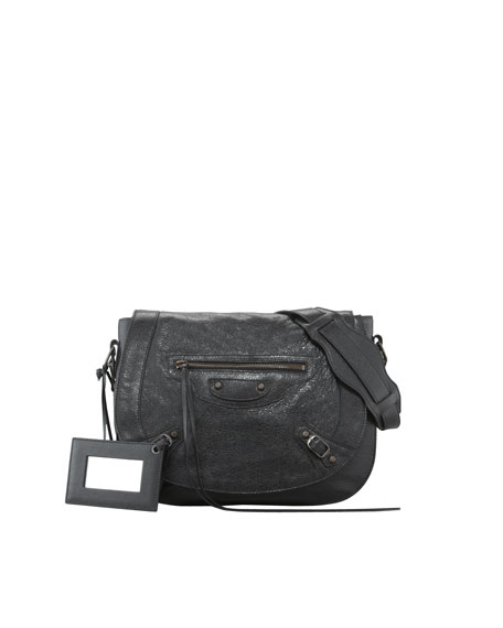 Balenciaga Classic Neo Folk Shoulder Bag