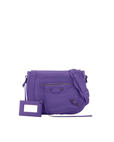 Classic Neo Folk Bag, Mauve