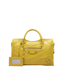 Balenciaga Giant 12 Golden City Bag, Curry