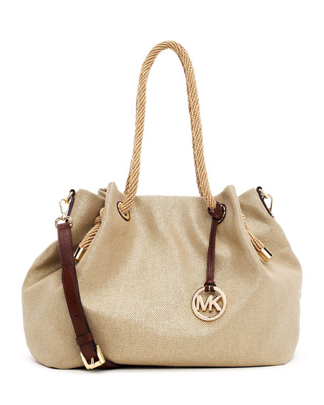 Large Marina Canvas Tote Bag with Strap