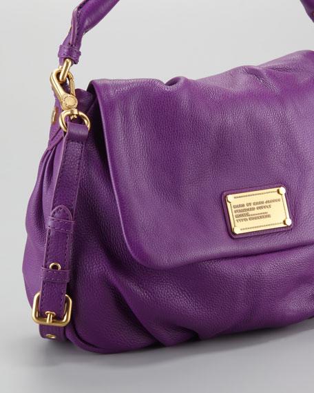 Classic Q Lil Ukita Satchel Bag, Violet