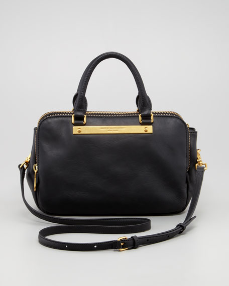 Goodbye Columbus Sylvie Shoulder Bag, Black
