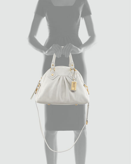 Marc By Marc Jacobs Classic Q Baby Aidan Satchel Bag Oyster