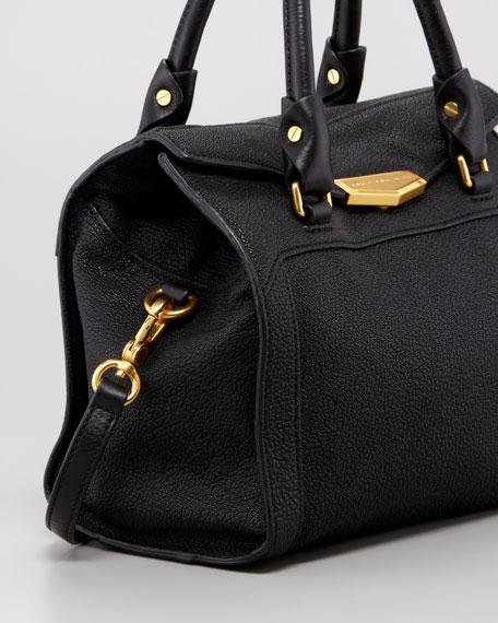 Belmont Melly Mini Satchel Bag, Black