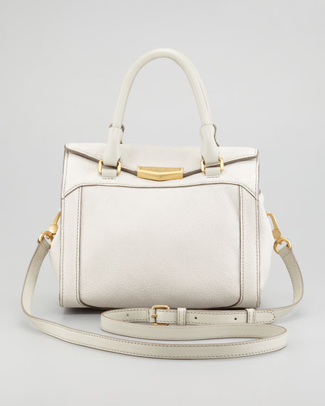 Belmont Melly Mini Satchel Bag, Oyster