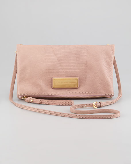 Too Hot To Party Chalky Liz Bag, Nude