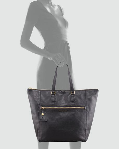 Globetrotter B. Cassidy Tote Bag, Black