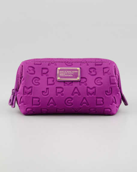Dreamy Logo Cosmetic Case, Violet