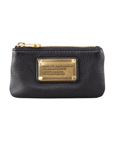 Classic Q Key Pouch Wallet, Black