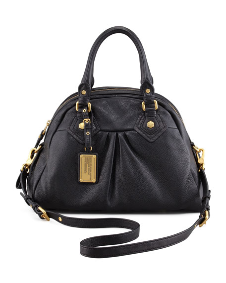 Classic Q Baby Aiden Satchel Bag Black